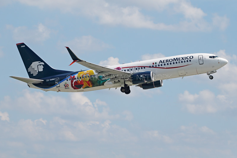 XA-AMM | Boeing 737-852 | AeroMexico