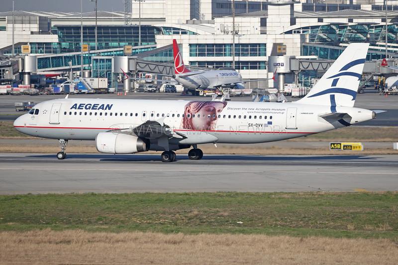 SX-DVV   Airbus A320-232   Aegean Airlines