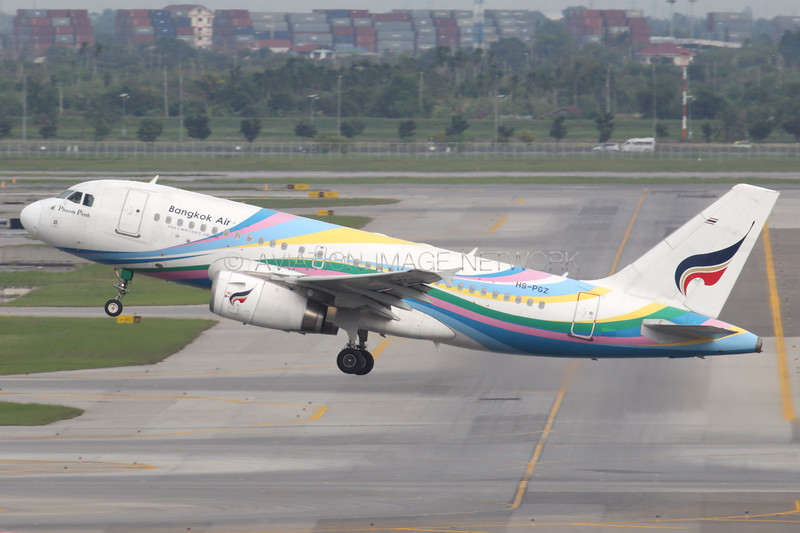 HS-PGZ | Airbus A319-132 | Bangkok Airways