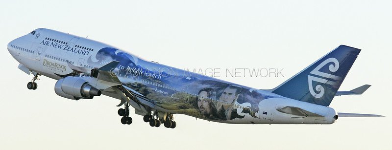 ZK-SUJ | Boeing 747-4F6 | Air New Zealand
