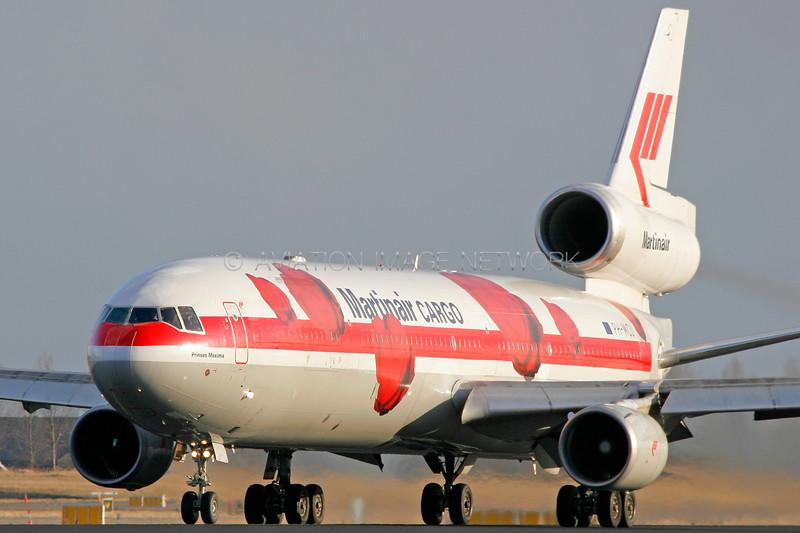PH-MCU | McDonnell Douglas MD-11F | Martinair Cargo