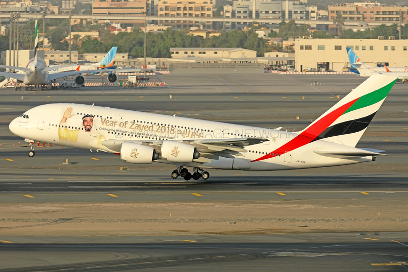 A6-EUA   Airbus A380-861   Emirates