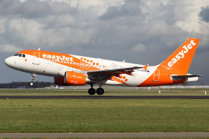 G-EZDN   Airbus A319-111   easyJet
