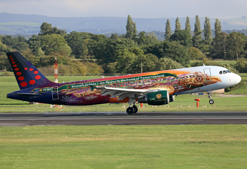 OO-SNF | Airbus A320-214 | Brussels Airlines