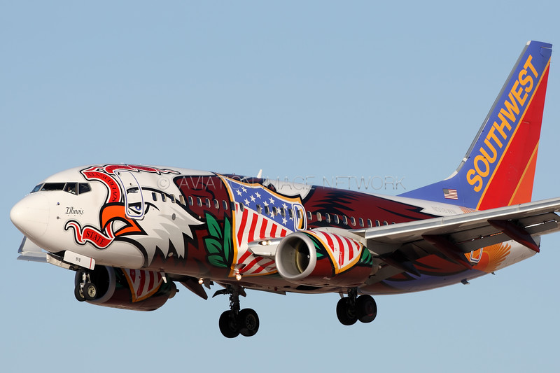 N918WN   Boeing 737-7H4   Southwest Airlines