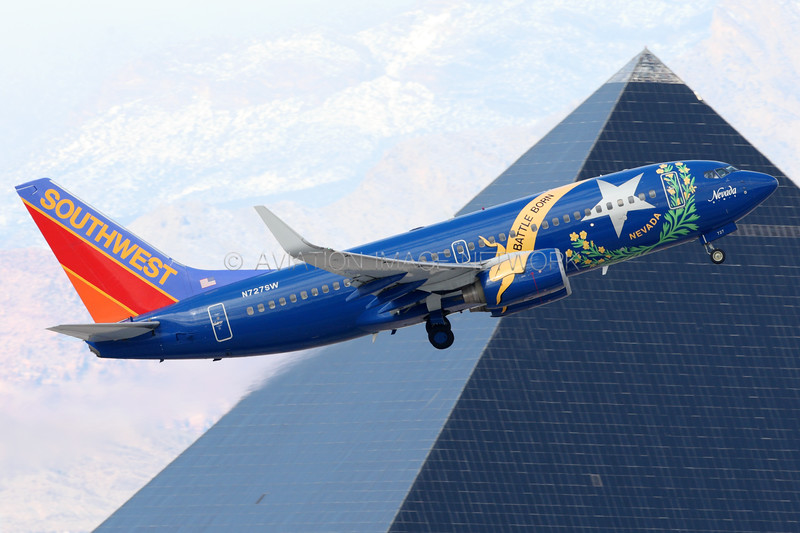 N727SW | Boeing 737-7H4 | Southwest Airlines