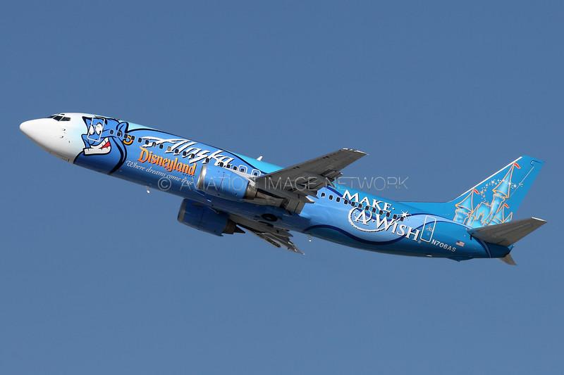 N706AS | Boeing 737-490 | Alaska Airlines
