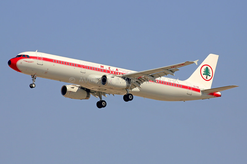 OD-RMI | Airbus A321-231 | MEA - Middle East Airlines