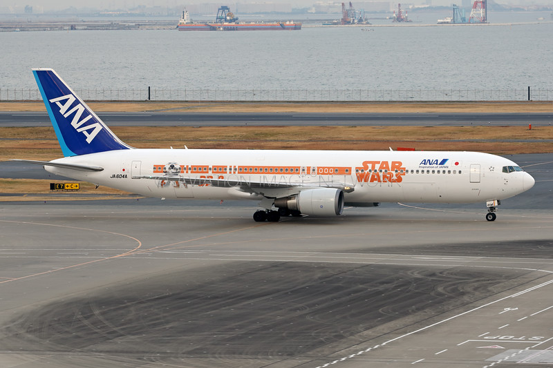 JA604A   Boeing 767-381/ER   ANA - All Nippon Airways