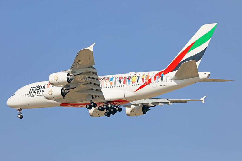 A6-EVB   Airbus A380-842   Emirates