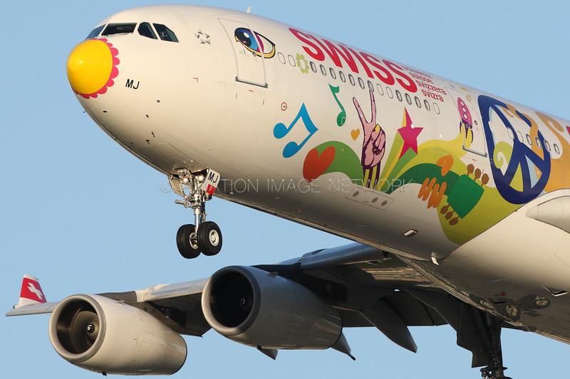 HB-JMJ | Airbus A340-313 | Swiss International Air Lines