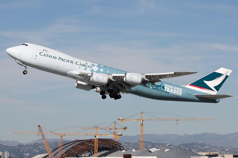 B-LJA | Boeing 747-867F/SCD | Cathay Pacific Cargo