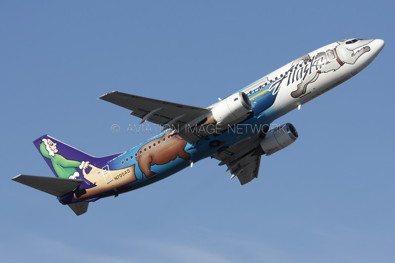 N705AS | Boeing 737-490 | Alaska Airlines