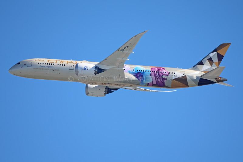 A6-BLR   Boeing 787-9   Etihad Airways