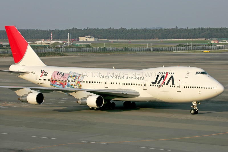 JA8130 | Boeing 747-246B | JAA - Japan Asia Airways
