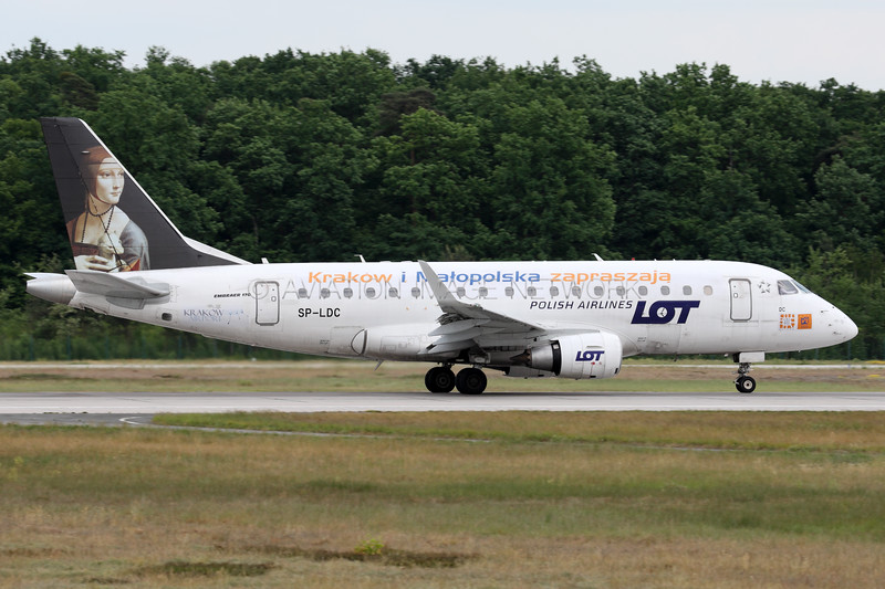 SP-LDC | Embraer ERJ-170STD | LOT Polish Airlines