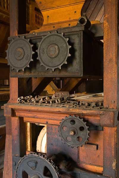 11/2010:  Inside Adams Mill, Cutler, Indiana