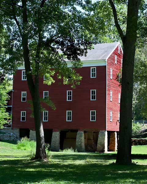 8/2011:  At Adams Mill.  Used Lightroom Adjustment Brush.