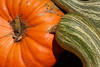 10/08:  Fall gourds and pumpkin, Brown County