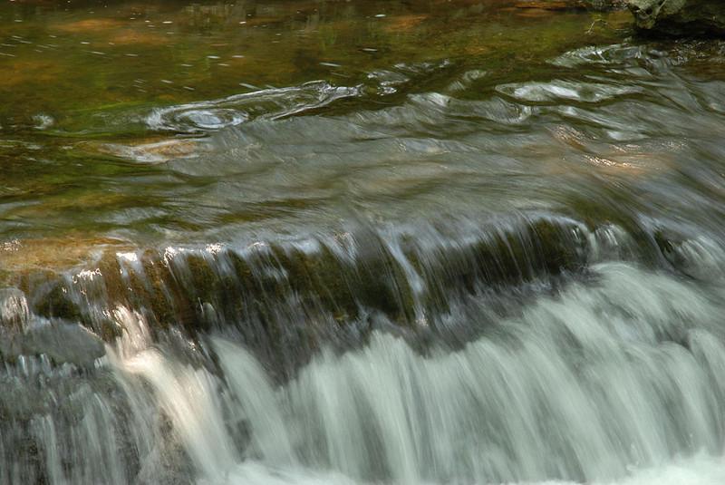 France Falls, upstream
