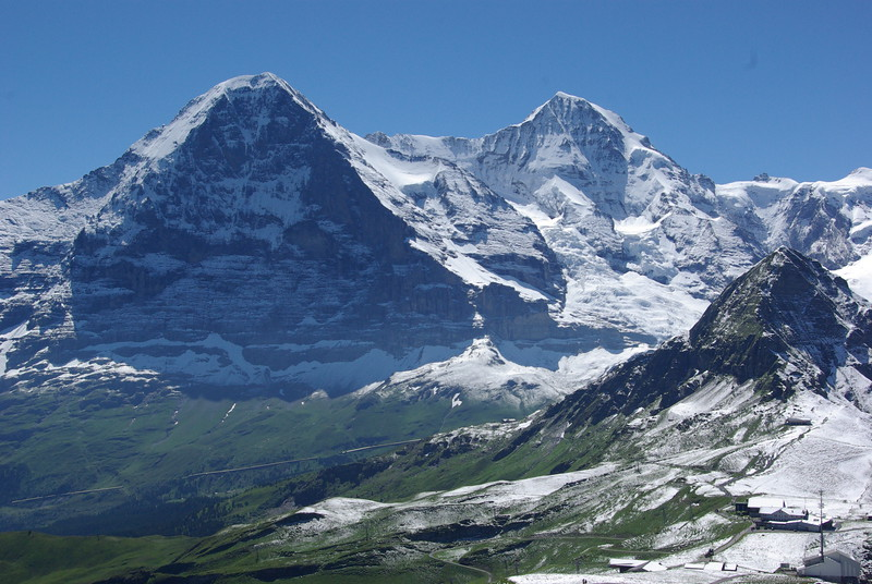 The Eiger, Monch & Tschuggen