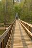 Turkey Run State Park suspension bridge, Sugar Creek.