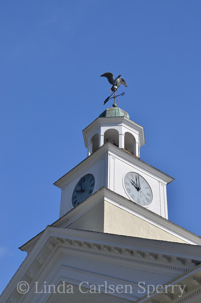 Townshend, Vermont, Town Hall Clock Tower