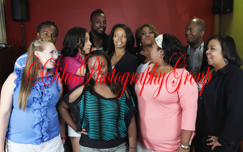 I really like this picture of the WXRP crew because everybody is doing something different... LOL!!!
