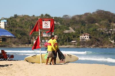 Lifeguard Training - Sayulita, Nayarit, Mexico