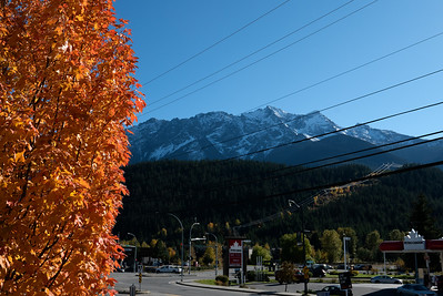 Mount Currie view from Pemberton.