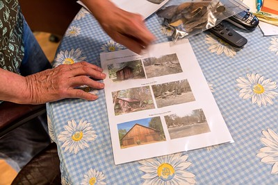 Three and a half weeks after the fire, Ethel still has not moved back into her house. But she has documented the three historic buildings lost to the LNU Complex fire.