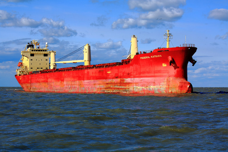 'M/V Federal Katsura' - Off of Lorain, Ohio!