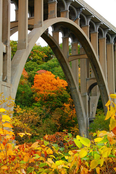 Bridging the 'Cuyahoga Valley National Park'!