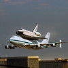 The retired Endeavour Lands at LAX