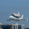 Endeavour Approaching LAX