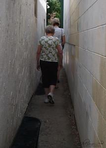 Narrow Hallway.