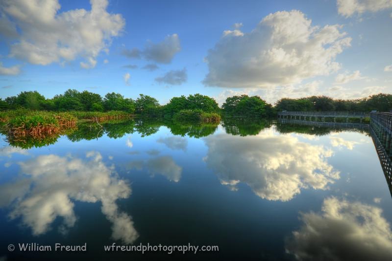 Wakodahatchee Wetlands, in Delray Beach, FL