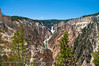 The Grand Canyon of the Yellowstone.  Yellowstone National Park.