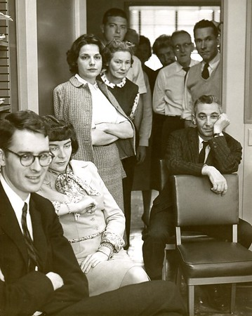 Berkshire Eagle staffers, 1960.