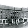 The Eagle offices in the Goodrich Block prior to August 15, 1904 on Depot Street in Pittsfield.