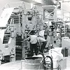 1976 photo of the Goss offset press on Eagle Street.