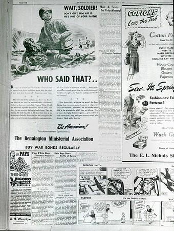 Bennington Bannerm May 23, 1944