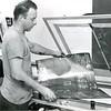 Making plates at teh Bennington Banner in 1962.