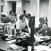 1950s newsroom on Eagle Street.