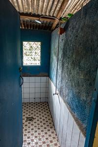 Shower. Old WWF building. Nyasoso, Southwest Region, Cameroon Africa