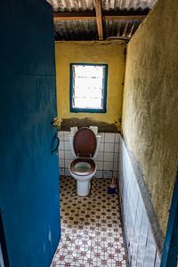 Toilet. Old WWF building. Nyasoso, Southwest Region, Cameroon Africa