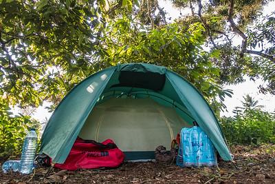 Campsite. Bermin, Southwest Region, Cameroon Africa