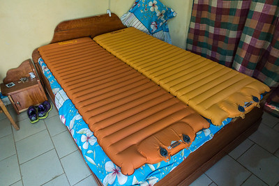 Beds were so lumpy and uncomfortable we used our Nemo Cosmo Air pads. Nyasoso, Southwest Region, Cameroon Africa