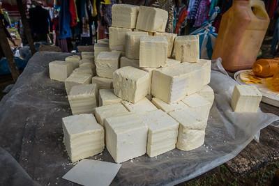 butter, weekly market. Nyasoso, Southwest Region, Cameroon Africa