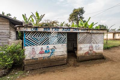 """One for teh Road Cafe Resto"". Nyasoso, Southwest Region, Cameroon Africa"